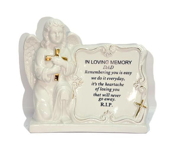 Angel with Scroll Memorial