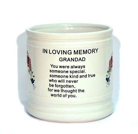 Memorial Ceramic Vase