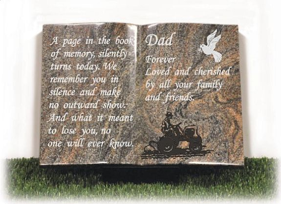 Fathers Memorial Book