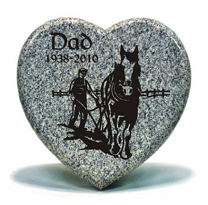 Fathers Memorial Heart