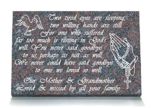 Grandmother Memorial