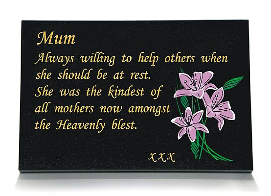 Memorial for A Mother