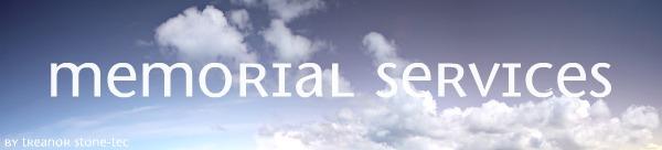 Headstone Memorial Services