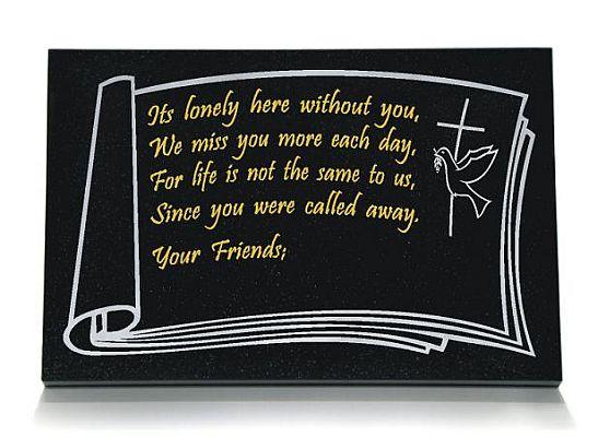 Memorial for a Friend