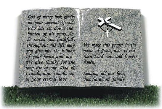 Prayer for Grandad