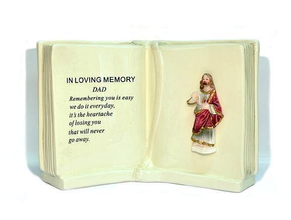 Ceramic Book Memorial
